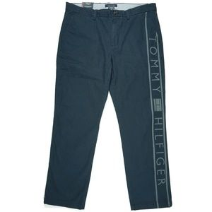 Tommy Hilfiger Chino Pants Spellout Size 35 x 30